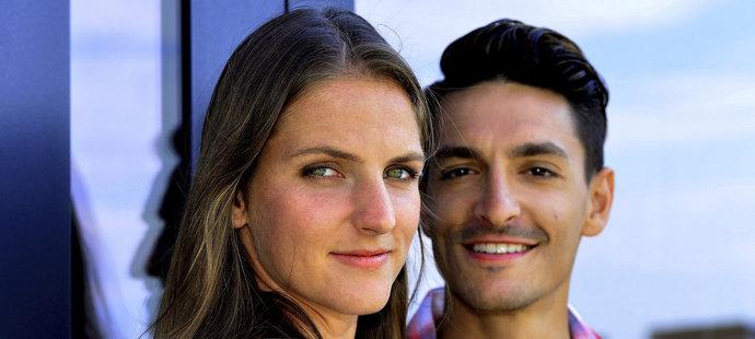 Tenistce Karolíně Plíškové dělá její přítel Michal Hrdlička manažera.