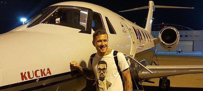 Juraj Kucka po přistání v Turecku