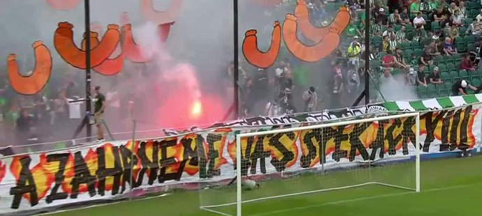 Bohemians - Slavia: Fanoušci Bohemians slíbili hráčům za vítězství špekáčky