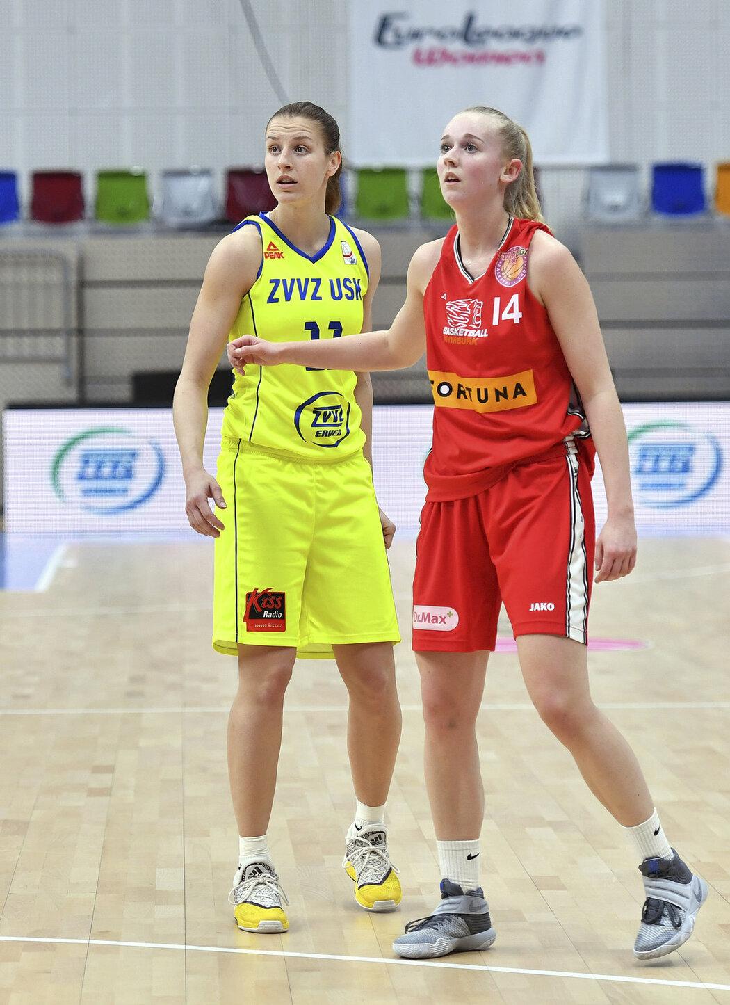 Kateřina Elhotová přispěla k výhře patnácti body