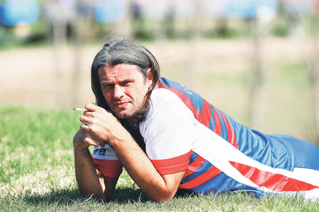 Legendární fotbalista Tomáš Skuhravý