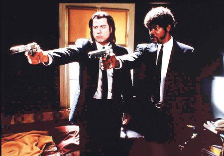John Travolta a Samuel L. Jackson v legendárním kousku...