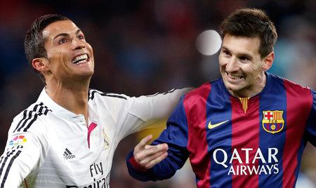 Cristiano Ronaldo a Lionel Messi