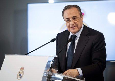 Prezident Realu Florentino Peréz