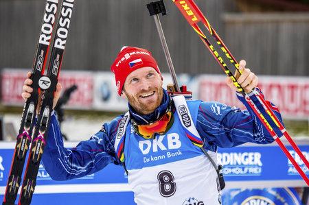 Michal Šlesingr dojel ve stíhačce SP v Ruhpoldingu třetí
