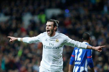 Gareth Bale vstřelil Deportivu tři góly