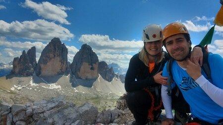 S přítelem je Domnosilová naladěna na stejnou notu. Po horách lezou oba dva.