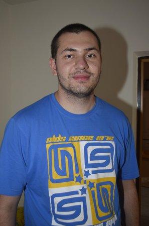 Karel Rosol (31), popelář, Plzeň
