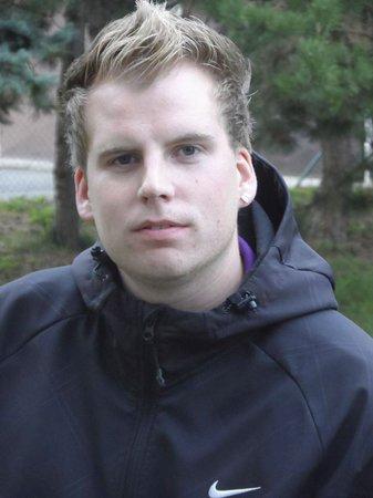 Jakub Smékal (28), správce areálu, Olomouc