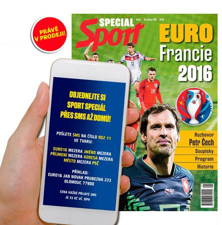 Speciální Magazín k EURO 2016 si můžete objednat i přes SMS