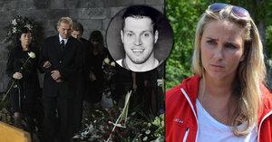 Soudní pře mezi přítelkyní mrtvého hokejisty Vašíčka Michaely a jeho rodinou