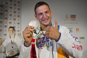 Český judista Lukáš Krpálek se zlatou medailí