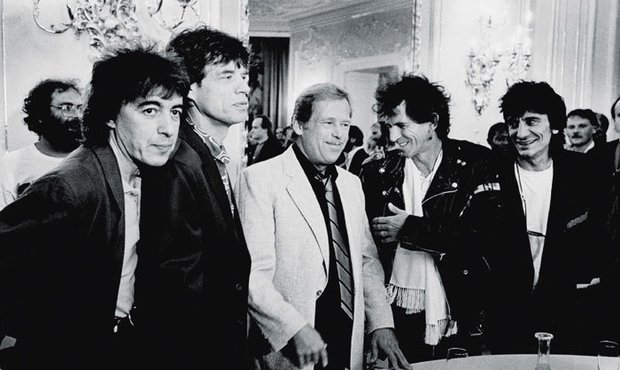 Keith Richards na setkání s Havlem nemůže zapomenout