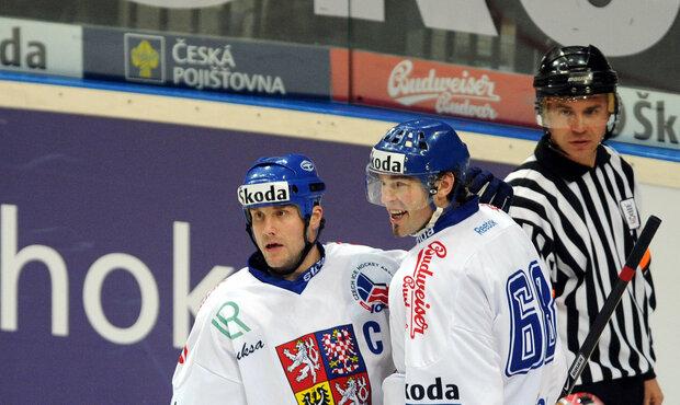 Jágr se Strakou spolu odehráli hodně zápasů, většinou se jim dařilo a nastříleli spousty gólů