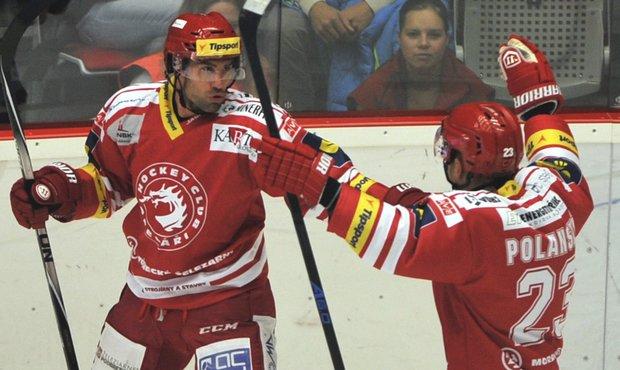SESTŘIHY: Třinec zničil Olomouc šesti góly, Sparta prohrála s Hradcem