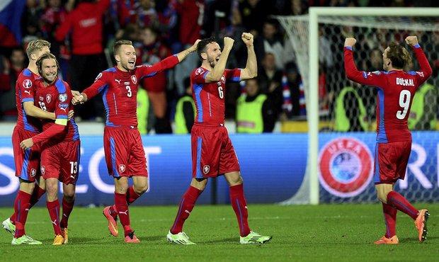Závěrečné radost českého týmu