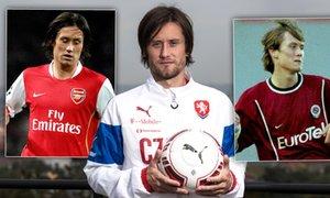 MŮJ PRVNÍ GÓL: Rosický o trefách za Spartu, Arsenal i Česko