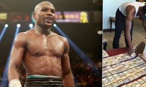 Boxer Floyd Mayweather provokuje snímkem, jak se balí na dovolenou...