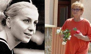 Ještě o víkendu byla ve svém domečku v Černošicích, nyní zase v nemocnici. Věra Čáslavská podstupuje druhou chemoterapii.