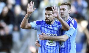 Baroš proti Baníku řádil! Sólo, dva góly a omluva fanouškům