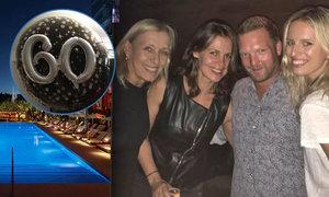 Martina Navrátilová oslavila šedesátku v naprostém luxusu. Hotel v Miami, kam dorazila i modelka Karolína Kurková, stál za to!