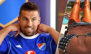 Fotbalista Milan Baroš dře s Baníkem, jeho manželka Tereza se na sezonu připravuje v Turecku. A stojí to za to!