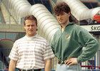 Straka s Jágrem na hokejovém MS v Itálii v roce 1994