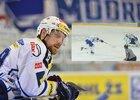 Jakub Koreis v rozhodující chvíli zlomil hokejku