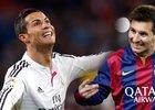 Cristiano Ronaldo a Lionel Messi, dvě největší hvězdy světového fotbalu
