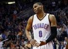 Ani vynikající výkon Russella Westbrooka nestačil.