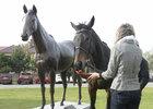 Orphee des Blins se dočkala vlastní sochy