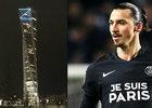 Zlatan Ibrahimovic zařídil pro fanoušky na náměstí velkoplošnou obrazovku, na které mohli sledovat zápas domácího Malmö proti PSG