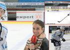 Kubalík zkoušel triky z NHL: Kolikrát trefil tyčku a jak žongluje?