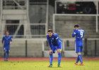 Záložník Ondřej Karafiát si ve svém prvním ligovém utkání vstřelil vlastní gól