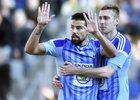 Útočník Mladé Boleslavi Milan Baroš se z gólů proti Baníku neradoval, naopak se fanouškům omlouval