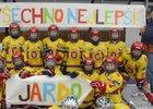 Malí kluci, ročníky narození 2007, zhokejové Hvězdy Praha, převálcovali své vrstevníky na mezinárodním turnaji