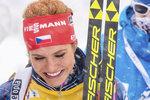 Gabriela Soukalová vybojovala v kanadském Canmore třetí místo v závodě s hromadným startem