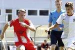 Filip Hašek v zápase turnaje CEE Cup proti australskému Brisbane