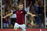 Deset vteřin na hřišti a rozhodující gól. Spartě zachránil postup do skupiny Evropské ligy střídající Jakub Brabec.