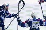 Mountfield HK - Kometa Brno: Nečas po bleskové akci otevírá skóre, 1:0. Gól prošel i u videa