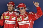 Kvalifikaci v Soči vyhrál Vettel před Räikkönenem