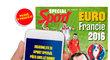 Speciální magazín k fotbalovému EURO 2016 právě v prodeji i přes SMS