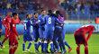 Fotbalisté Ázerbájdžánu slaví bod na české půdě