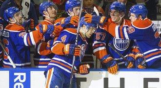 Edmonton m� prvn� v�hru v sezon�, rozhodla Pal�tova chybka