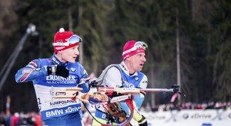 Biatlonov� �tafeta mu�� zopakovala �est� m�sto, vyhr�lo Norsko