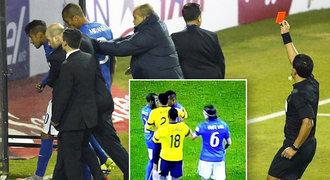 Porážka a vyloučení! Neymar dal za Brazílii hlavičku soupeři