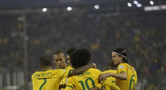 Neymara netřeba. Brazílie i bez hvězdy vyhrála na Copa América skupinu