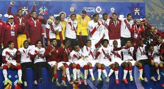 V Peru slaví! Fotbalisté podruhé v řadě berou na Copě Américe bronz