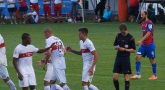 Debakl Plzně zpečetil gólem Kliment, Stuttgart vyhrál jasně 6:3