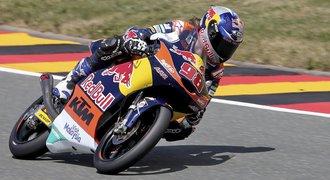 Hanika skončil v Německu až třináctý, MotoGP ovládl Španěl Márquez